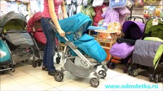 "Короткий обзор прогулочной коляски ""Nicole"" Happy Baby"