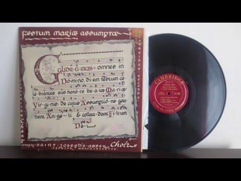 Cistercian chant  St  Joseph's Abbey, Spencer, MA