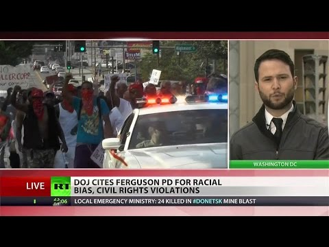 Dogs, Tasers used predominately on African Americans – DOJ report on Ferguson