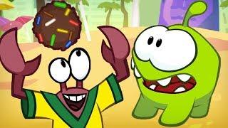 Om Nom Stories - Football | Cartoons For Kids | Om Nom Cut The Rope | Kids Cartoon