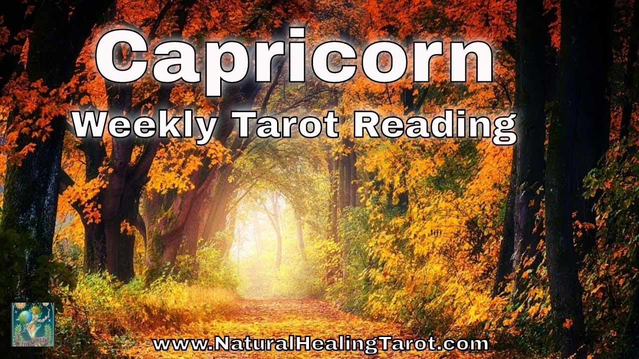 capricorn weekly 6 to 12 tarot horoscope