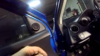 SUZUKI SWIFT Πως βγαζω ταπετσαρια πορτας Door Panel Removal