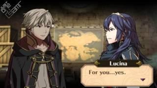 Fire Emblem Awakening - Male Avatar (My Unit) & Lucina Support Conversations