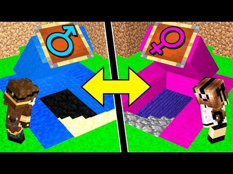 STANZA SEGRETA DEI MASCHI contro FEMMINE! - Scuola di Minecraft #10