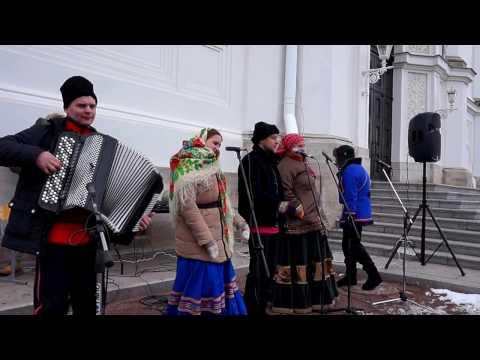 Частушки,хор русской народной песни.Russian folk song