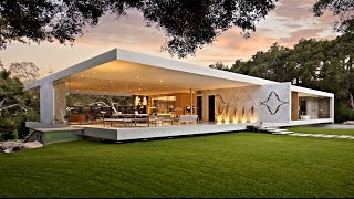 Impressive Modernist Glass-walled Luxury Residence In Montecito, Ca, Usa  By Steve Hermann