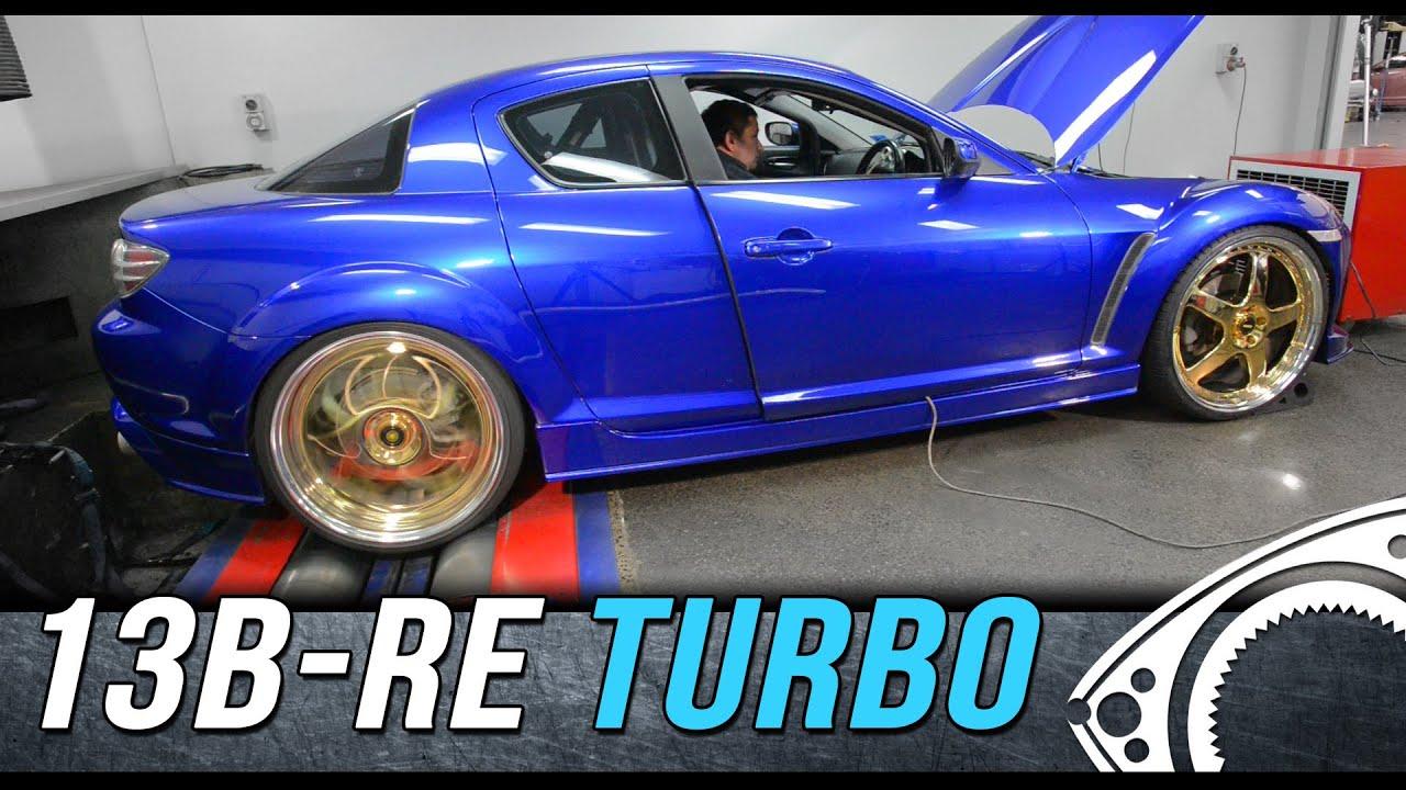 Mazda RX-8 turbo ~ Rotary 13B-RE