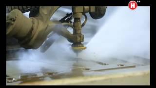 видео Гидроабразивная резка