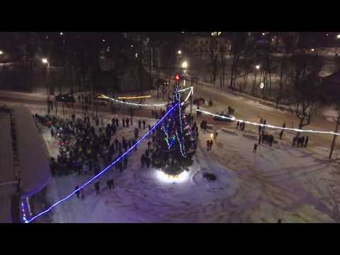 Новый год 2018 - 2019 Пыталово