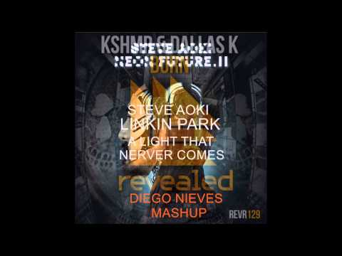 Darker Than Blood vs Burn vs A Light That Never Comes vs Slammer (Diego Nieves MashUp)