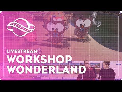 Workshop Wonderland (w/ Liesa Bauwens)