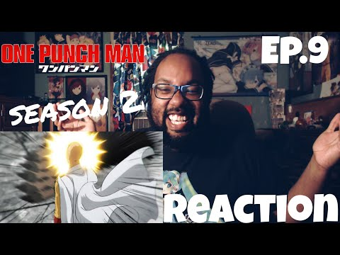A HEROES AMBITION....ONE PUNCH MAN SEASON 2 EPISODE 9 REACTION