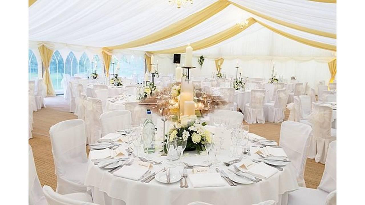 Wedding reception decorations ideas - YouTube