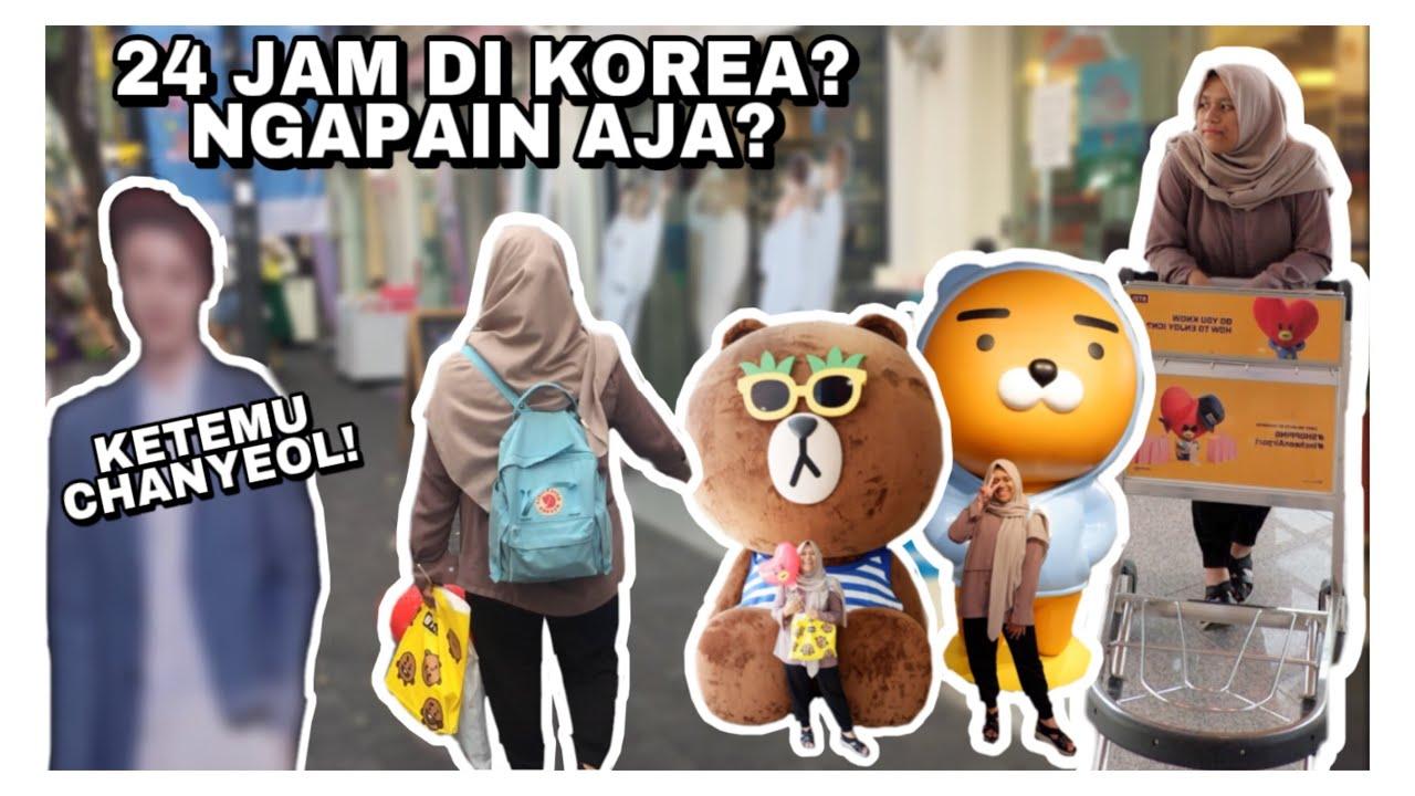 24 JAM DI KOREA! | NYASAR TENGAH MALEM?! [SUMMER 2018]