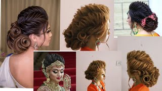 Latest twisted updo hairstyle by Sunil kumar creative hairstylist/ how to make twist updo hairstyle