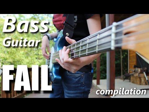 Bass Guitar FAIL compilation | RockStar FAIL