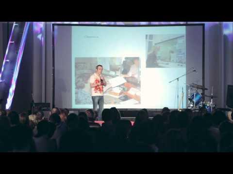 О лучшем городе земли: Гарретт Джонстон at TEDxNovosibirsk