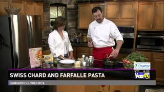 Healthy Cooking With Chef Mark Mckinney- Swiss Chard And Farfalle Pasta