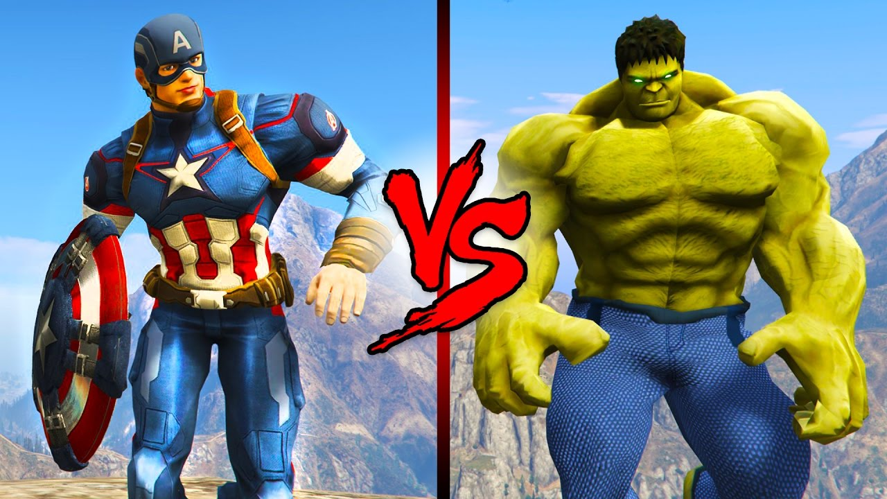 captain america vs the