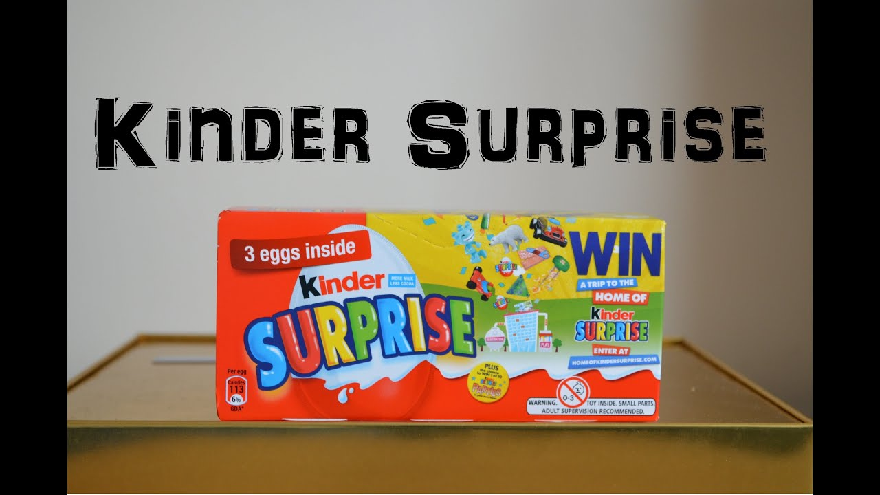 3 kinder surprise egg box unboxing unwrapping kinder toys. Black Bedroom Furniture Sets. Home Design Ideas