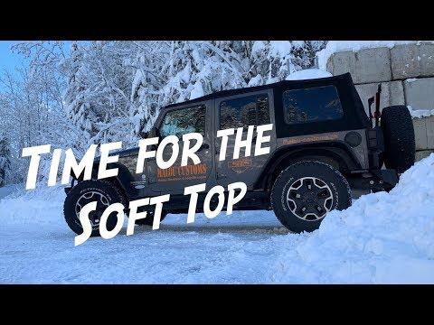 Time for the Soft Top - Vegan Overlander Jeep Updates