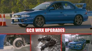 GC8 WRX gets More Power, Improved Gear Ratios and Better Brakes - Budget Track Hack