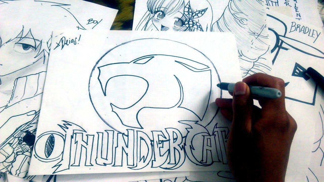 Dibuja Kawaiii el LOGO THUNDERCATS XDB - YouTube