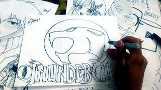 Dibuja Kawaiii el LOGO THUNDERCATS XDB