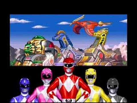 Power Rangers Game - YouTube