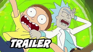 Rick and Morty Season 5 Teaser Trailer Breakdown and Easter Eggs - Comic Con 2020