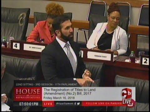 St. Augustine MP Expressed Concern Over Fraudulent Land Titles