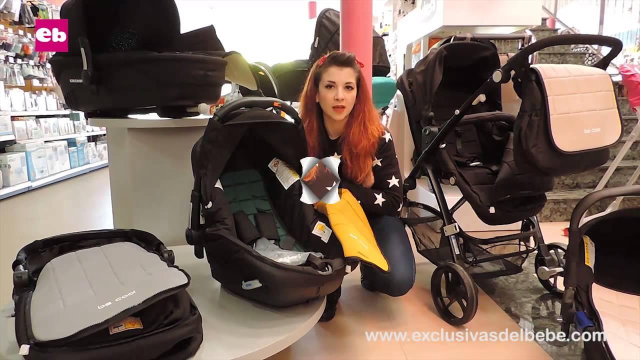Carritos bebé Be Cool Slide Cocoon, Top y Twice