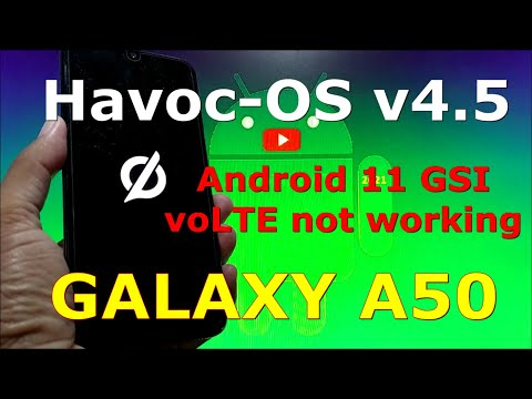 Havoc-OS v4.5 Official Android 11 GSI on Samsung Galaxy A50