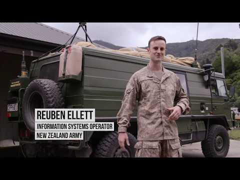 Reuben Ellett, Information Systems Operator