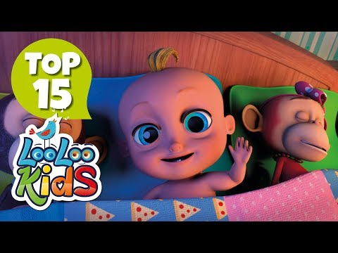Ten in a Bed  TOP 15 Songs for Kids on YouTube