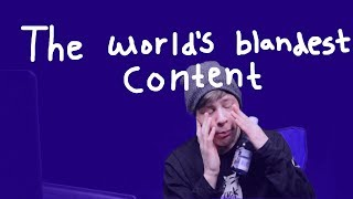 trying NOT to eat challenge: the world's blandest content