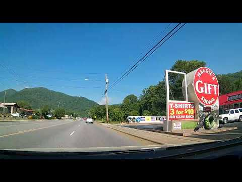 Driving Through Maggie Valley, North Carolina