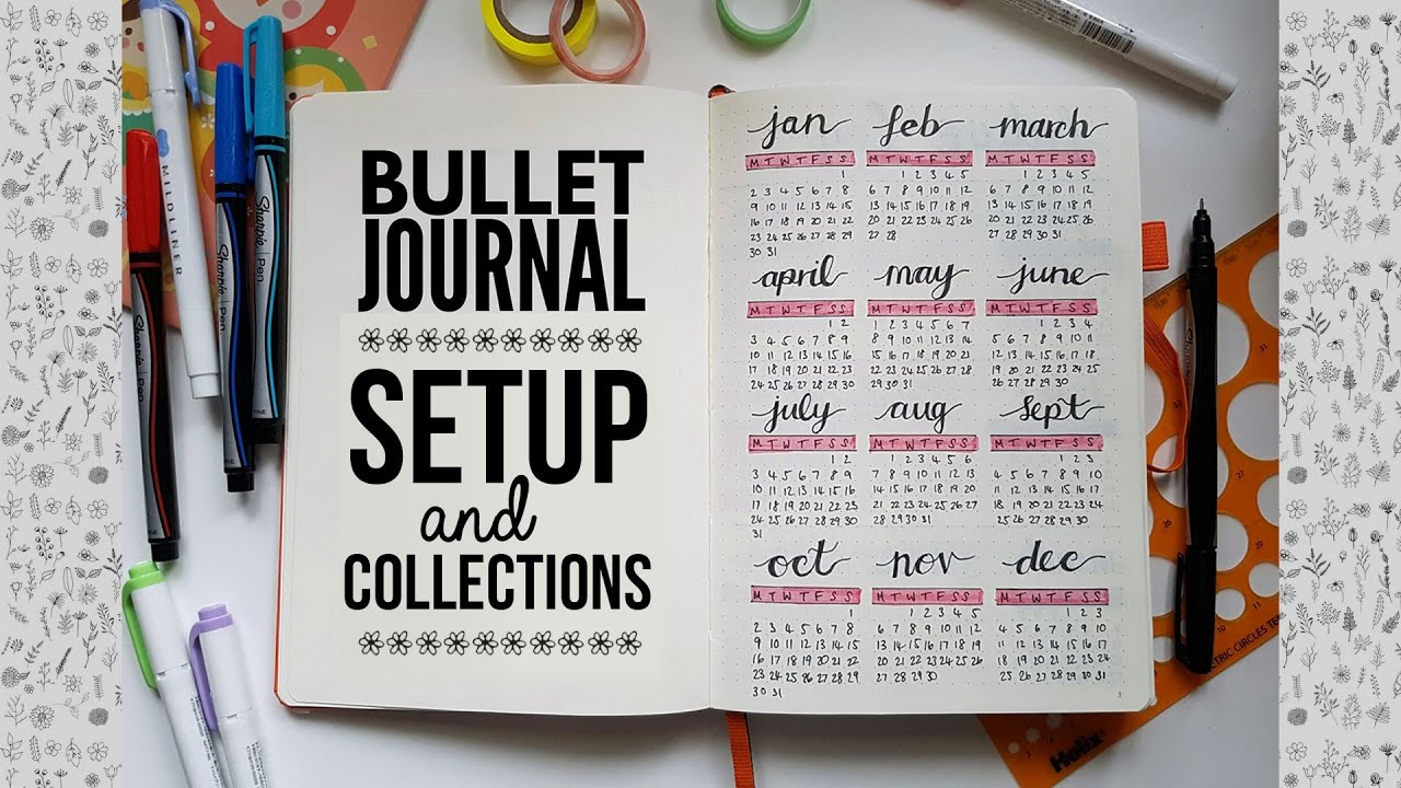my bullet journal setup collections youtube. Black Bedroom Furniture Sets. Home Design Ideas