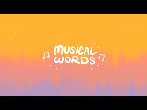 musical words