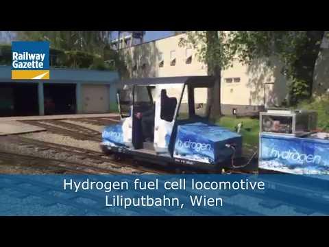 Liliputbahn hydrogen fuel cell locomotive