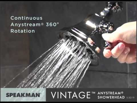 Speakman S 3019 8 Jet Anystream Vintage Showerhead In Polished Chrome Review