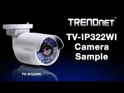 TRENDnet TV-IP322WI Camera Sample