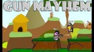Gun mayhem: trò chơi quá gay cấn !! (vi.y8.com) w/ my brother