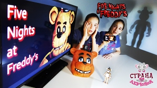- СОНЯ и ПОЛИНА играют в FIVE NIGHTS AT FREDDYS Обзор приложения FNaF Видео для детей