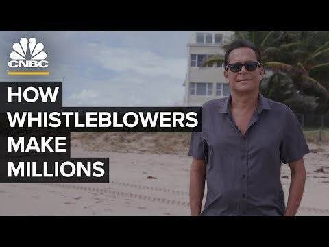 How Corporate Whistleblowers Make Millions