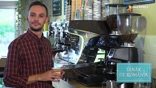 Tanar de Romania Succesul dintr-o ceasca de cafea