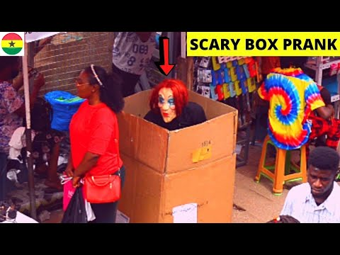 😂😂😂She Has No Idea What's Behind Her! Scary Box Prank Episode 4! Craziest Reactions! Loud Screams