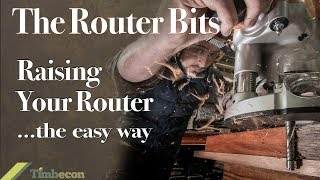 The Router Bits  - Raising Your Router ... the Easy Way