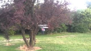 F 27 helicopter on tennis table Thumbnail