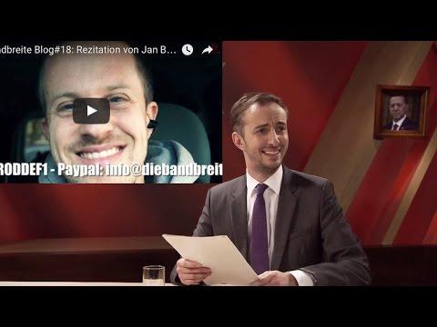 """Die Bandbreite Blog#18: Rezitation von Jan Böhmermanns Gedicht """"Schmähkritik"""""""